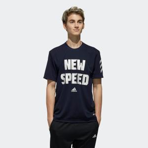 全品ポイント15倍 07/19 17:00〜07/22 16:59 セール価格 アディダス公式 ウェア トップス adidas 5T TYPO T SPEED|adidas