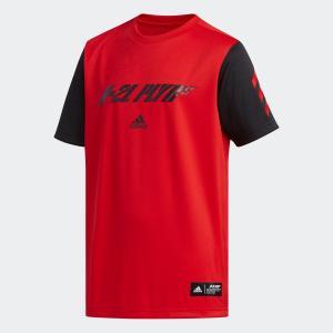 全品ポイント15倍 07/19 17:00〜07/22 16:59 セール価格 アディダス公式 ウェア トップス adidas 5T PLAYER T Jr|adidas