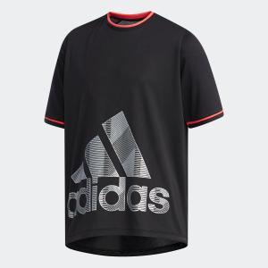 全品送料無料! 6/21 17:00〜6/27 16:59 セール価格 アディダス公式 ウェア トップス adidas B TRN CLIMACOOL グラフィックBOS Tシャツ|adidas