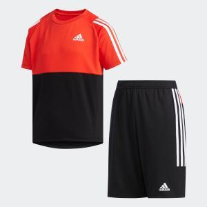 全品送料無料! 5/27 17:00〜5/29 16:59 返品可 アディダス公式 ウェア セットアップ adidas B CLIMALITE Tシャツ上下セット|adidas