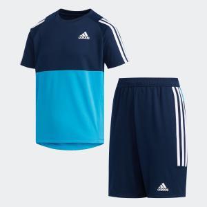 全品送料無料! 6/21 17:00〜6/27 16:59 セール価格 アディダス公式 ウェア セットアップ adidas B CLIMALITE Tシャツ上下セット|adidas