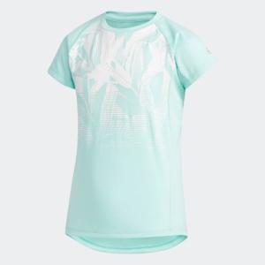 全品ポイント15倍 07/19 17:00〜07/22 16:59 セール価格 アディダス公式 ウェア トップス adidas G TRN ボタニカルグラデーション Tシャツ|adidas
