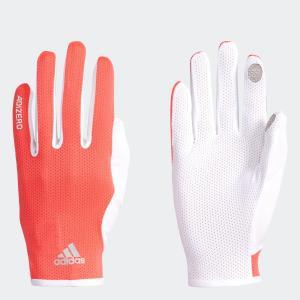 セール価格 アディダス公式 アクセサリー 手袋/グローブ adidas ランニング アディゼロ 軽量 UVカットグローブ|adidas
