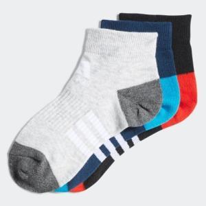 返品可 アディダス公式 アクセサリー ソックス adidas 子供用 3足組みショートソックス|adidas