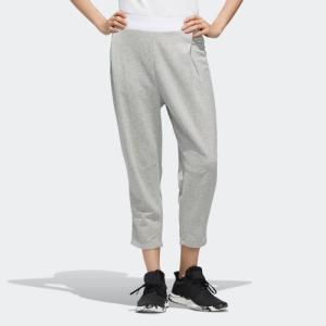 ポイント15倍 5/21 18:00〜5/24 16:59 返品可 アディダス公式 ウェア ボトムス adidas W ID ヘリンボーン カプリ パンツ|adidas