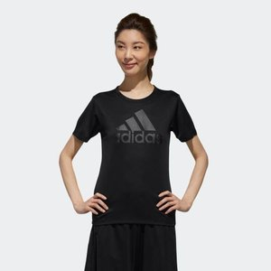 ポイント15倍 5/21 18:00〜5/24 16:59 返品可 アディダス公式 ウェア トップス adidas W MH 半袖 ビッグロゴ Tシャツ|adidas