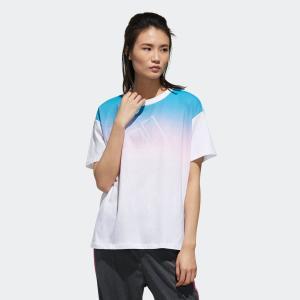 セール価格 アディダス公式 ウェア トップス adidas W S2S 半袖 グラデーション Tシャツ|adidas