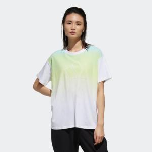 全品送料無料! 08/14 17:00〜08/22 16:59 セール価格 アディダス公式 ウェア トップス adidas W S2S 半袖 グラデーション Tシャツ|adidas
