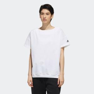 ポイント15倍 5/21 18:00〜5/24 16:59 返品可 アディダス公式 ウェア トップス adidas W S2S シアサッカー半袖Tシャツ|adidas
