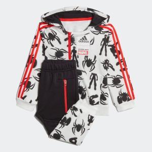 全品送料無料! 5/27 17:00〜5/29 16:59 返品可 アディダス公式 ウェア セットアップ adidas [MARVEL] スパイダーマン スウェット上下セット|adidas