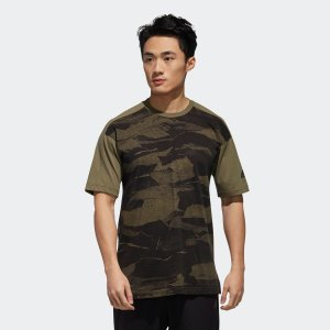 セール価格 アディダス公式 ウェア トップス adidas M S2S CAMOグラフィック Tシャツ|adidas