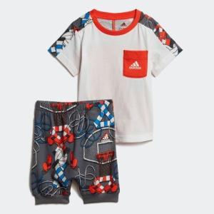 全品ポイント15倍 09/13 17:00〜09/17 16:59 セール価格 アディダス公式 ウェア セットアップ adidas I グラフィック Tシャツ&ロークロッチパンツ 上下セ…|adidas