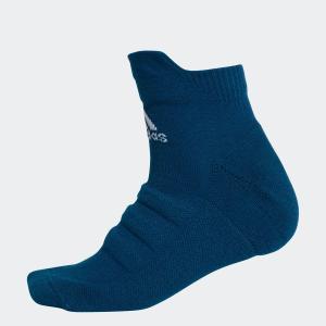 返品可 アディダス公式 アクセサリー ソックス adidas アルファスキン ハーフクッションショートソックス|adidas