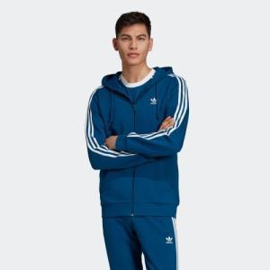 セール価格 アディダス公式 ウェア トップス adidas 3ストライプス フルジップ フード付きスウェット|adidas