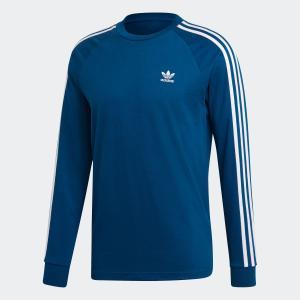 返品可 アディダス公式 ウェア トップス adidas 3ストライプス 長袖Tシャツ|adidas