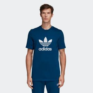 返品可 アディダス公式 ウェア トップス adidas トレフォイルTシャツ [TREFOIL TEE アディカラー/adicolor]|adidas