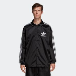 返品可 送料無料 アディダス公式 ウェア アウター adidas SATIN COACH ジャケット|adidas