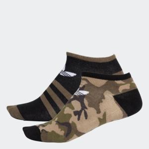 返品可 アディダス公式 アクセサリー ソックス adidas カモ柄リニア2足組みソックス|adidas