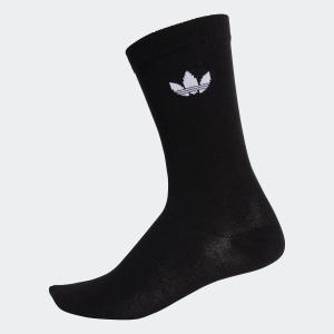 返品可 アディダス公式 アクセサリー ソックス adidas トレフォイルクルーソックス/靴下|adidas