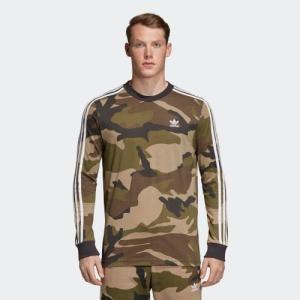 セール価格 アディダス公式 ウェア トップス adidas CAMO 長袖 Tシャツ|adidas