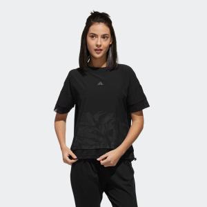 ポイント15倍 5/21 18:00〜5/24 16:59 返品可 アディダス公式 ウェア トップス adidas M4T ファブリックミックスTシャツ|adidas