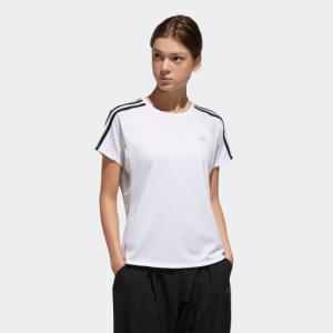 セール価格 アディダス公式 ウェア トップス adidas 定番3ストライプ半袖Tシャツ|adidas