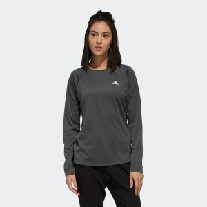 全品ポイント15倍 07/19 17:00〜07/22 16:59 セール価格 アディダス公式 ウェア トップス adidas 定番ロゴワンポイント長袖Tシャツ|adidas