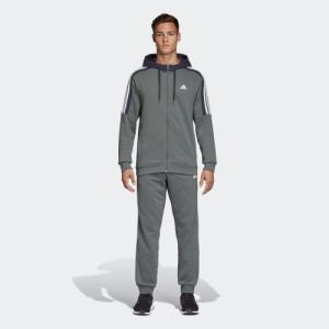 全品ポイント15倍 07/19 17:00〜07/22 16:59 セール価格 アディダス公式 ウェア セットアップ adidas M MUSTHAVES スウェットパーカートラックスーツ|adidas