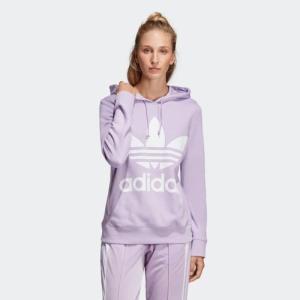 返品可 送料無料 アディダス公式 ウェア トップス adidas トレフォイルフーディー/パーカー|adidas