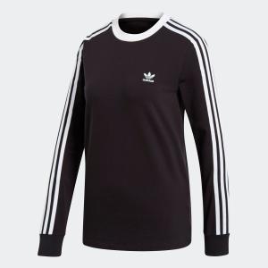 全品ポイント15倍 07/19 17:00〜07/22 16:59 返品可 アディダス公式 ウェア トップス adidas 3ストライプス 長袖Tシャツ|adidas