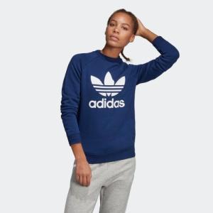 セール価格 アディダス公式 ウェア トップス adidas トレフォイルクルーネックスウェット|adidas