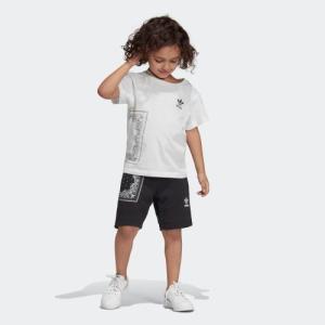 返品可 アディダス公式 ウェア セットアップ adidas BANDANA 半袖Tシャツ&ショーツ 上下セット|adidas