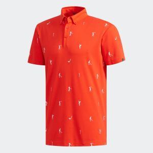 セール価格 アディダス公式 ウェア トップス adidas ADICROSS エンブロイダリー 半袖ボタンダウンシャツ 【ゴルフ】|adidas