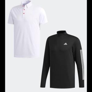 返品可 送料無料 アディダス公式 ウェア トップス adidas スリーストライプス レイヤードボタンダウンシャツ 【ゴルフ】|adidas