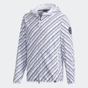 返品可 送料無料 アディダス公式 ウェア アウター adidas adicross クラブプリント 長袖フーディーウインド 【ゴルフ】|adidas