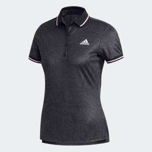 セール価格 アディダス公式 ウェア トップス adidas マッププリント 半袖ラインドポロ 【ゴルフ】|adidas