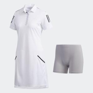 セール価格 アディダス公式 ウェア オールインワン adidas スリーストライプス ワンピース 【ゴルフ】|adidas