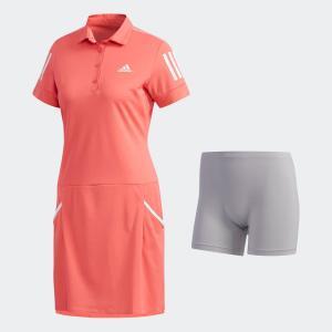 全品ポイント15倍 07/19 17:00〜07/22 16:59 セール価格 アディダス公式 ウェア オールインワン adidas スリーストライプス ワンピース 【ゴルフ】|adidas