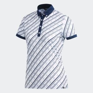 セール価格 アディダス公式 ウェア トップス adidas ADICROSS クラブプリント 半袖ボタンダウンシャツ 【ゴルフ】|adidas