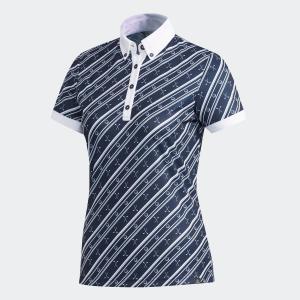 セール価格 アディダス公式 ウェア トップス adidas ADICROSS クラブプリント 半袖ボタンダウンシャツ 【ゴルフ】 adidas