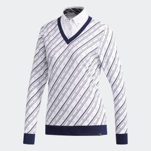 返品可 送料無料 アディダス公式 ウェア トップス adidas adicross クラブプリント フェイクレイヤードシャツ 【ゴルフ】|adidas