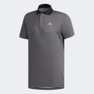 セール価格 アディダス公式 ウェア トップス adidas クライマチル ヘザー 半袖ポロ 【ゴルフ】|adidas