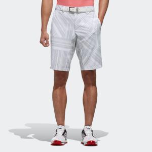 セール価格 アディダス公式 ウェア ボトムス adidas ジオメトリックプリント ショートパンツ 【ゴルフ】|adidas