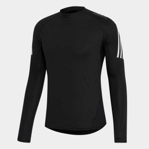 返品可 アディダス公式 ウェア トップス adidas アルファスキン チーム スリーストライプスロングスリーブTシャツ p0924|adidas