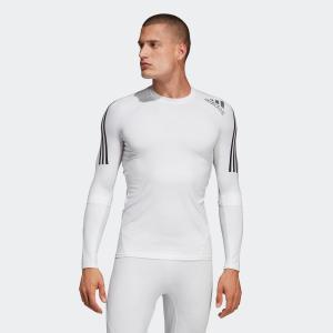 返品可 アディダス公式 ウェア トップス adidas アルファスキン チーム スリーストライプスロングスリーブTシャツ|adidas