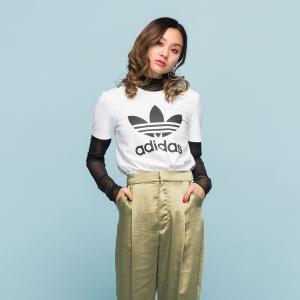 返品可 アディダス公式 ウェア トップス adidas トレフォイル Tシャツ|adidas