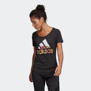 ポイント15倍 5/21 18:00〜5/24 16:59 返品可 アディダス公式 ウェア トップス adidas W 半袖 フラワー Tシャツ|adidas