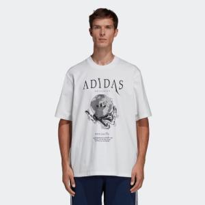 期間限定 さらに30%OFF 6/14 17:00〜6/17 16:59 アディダス公式 ウェア トップス adidas UNIVERSE LOGO TEE|adidas