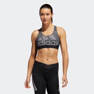 全品送料無料! 07/19 17:00〜07/26 16:59 返品可 アディダス公式 ウェア トップス adidas W ミディアムサポート ALPHASKIN TEAM BIGLOGO DRSTブラ|adidas