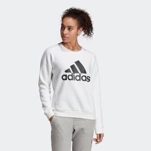 返品可 アディダス公式 ウェア トップス adidas W MH ビッグロゴ スウェット クルー|adidas